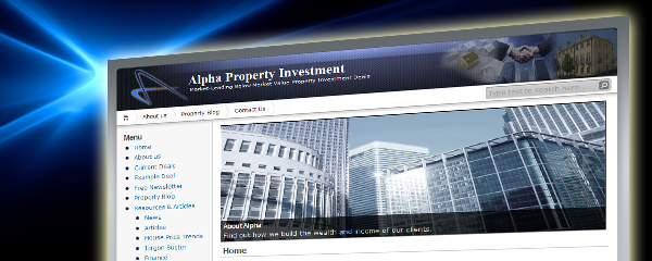 Property Investment Website Design