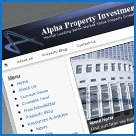 investment Property website design