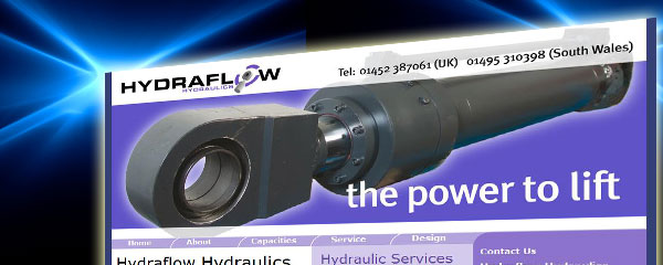 Hydraflow Hydraulics Website Design