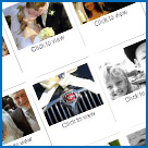 Wedding photography Website Design